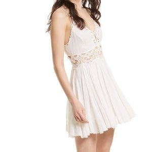 Free People Ilektra Lace Cami Mini Dress | NWT
